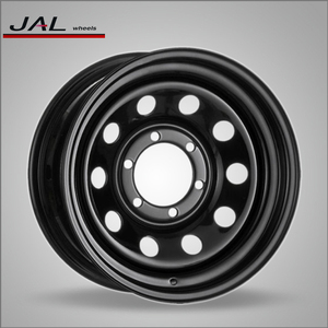 13x4.5 Steel Car 4x100 Wheel Rims 4x4 Offroad Wheels Made in China