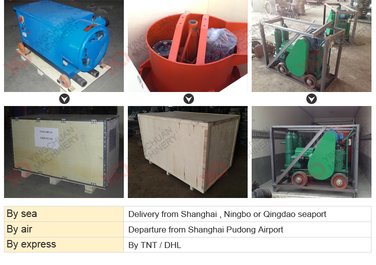 Ce Certification concrete grouting mortar pump for sale grout machine