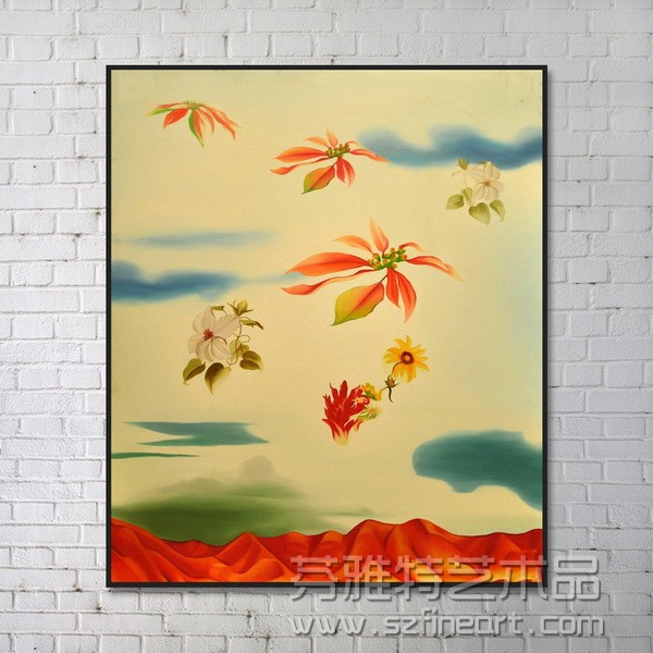 The new hot selling decoration original works of painting art