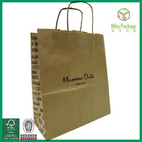 promotional cosmetic paper bags