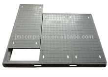 SMC Composite Telecommunications Hand Hole/Fiberglass Reinforced Plastic Manhole Cover/Clover Hole Perforated Plate