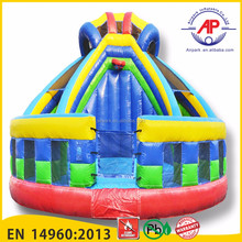 Airpark Inflatable bouncer slide, Kids Inflatable Slide, kids inflatable bounce bed