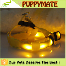 Pet Dog LED Harness Training Safety Light Glowing Harness for Dog
