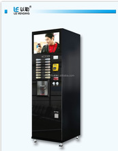 Great tasting coffee 16 selections -similar Italy Necta coffee vending machines for F308