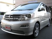 2003 Toyota Alphard, 5 doors, Mini Van, steering:Right