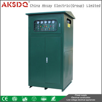 Hot SBW 300KVA Brush Type Generator Automatic Voltage Regulator Industrial 380 With CE For Power Saving