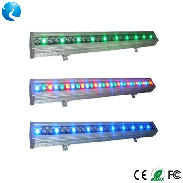 600mm dmx rgb waterproof ip65 54w led wall washer for advertisement towers