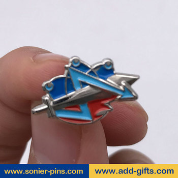 Sonier-pins sword making custom lapel pin on lapel