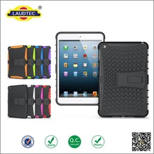 2015 New arrival!shockproof hard case for ipad mini 4 with stand