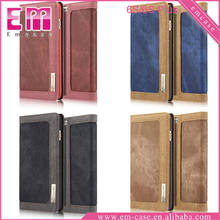 For iPhone 6 Dual Color Wallet Leather Case Waterproof Leather Case For iPhone 6Plus