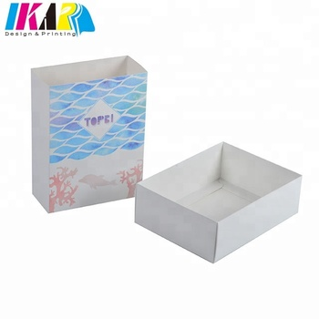 CMYK Color Custom Printing Open Sleeve Paper Gift Box