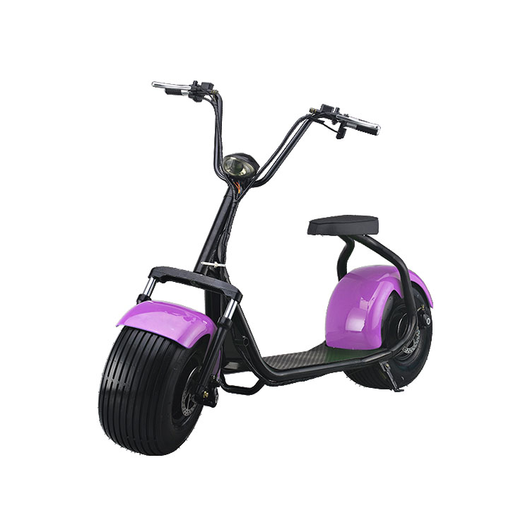 light purple color classical mini electric harley scooter for adult