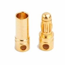 with ROHS 3.5mm male and female 24K gold plated connector