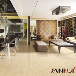 polished living room floor tile building material