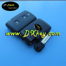 Factory sale high quality 3 buttons smart key cover (TOY43) for flip key case toyota