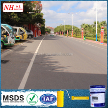 Anti hair-cracking reflective thermoplastic road marking paint
