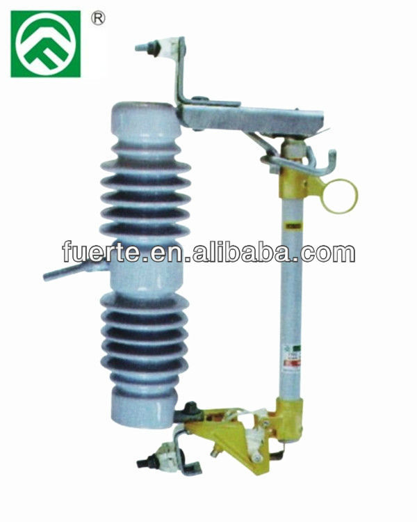 FSC-12 type tested 15KV to 27KV 125BIL porcelain expulsion and popular used jet fuse cutout