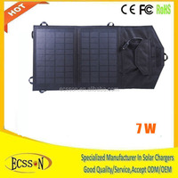 7W High quality competitive price flexible 7 watt solar panel