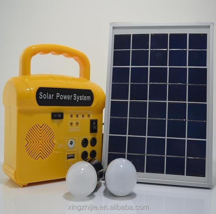 Hot item solar photovoltaic cell system for 2017 with audio function