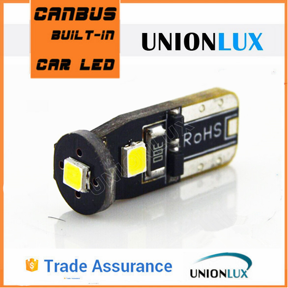Unionlux hot sale 3smd led lamp with 2835 chip 14v T10 led bulb tunning light