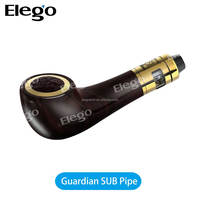 2016 Wholesale E Pipe E Cigarette 75W Black Smok Guardian Pipe III Kit 75w Smok Guardian Pipe 3