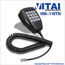 VITAI HM-118TN High Performence Two Way Radio Transmitter Speaker Microphone For IC-2200H IC-2720H IC-2725E IC-V8000 Model