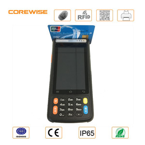 Android cheap all in one touch screen pos system with thermal printer, MSR, contact IC card RFID reader
