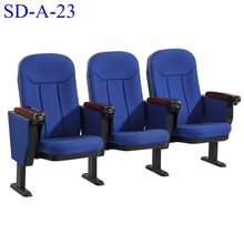 No.SD-A-23 High Quality Conference Furniture Theater Auditorium Audience Chair With Writing Pad