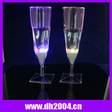 2012, Goblet Champagne and Margarita LED Flashing Glass