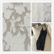 Wholesale 75D hi-multi cut flower chiffon Fabric in stock for lady tops