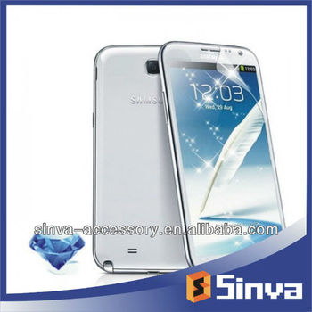 Atractive! Blue diamond screen protector/screen film for samsung galaxy note 3/s4(manufacturer)