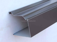 5 Inch K-style aluminum guttering for building's rainwater drainage system