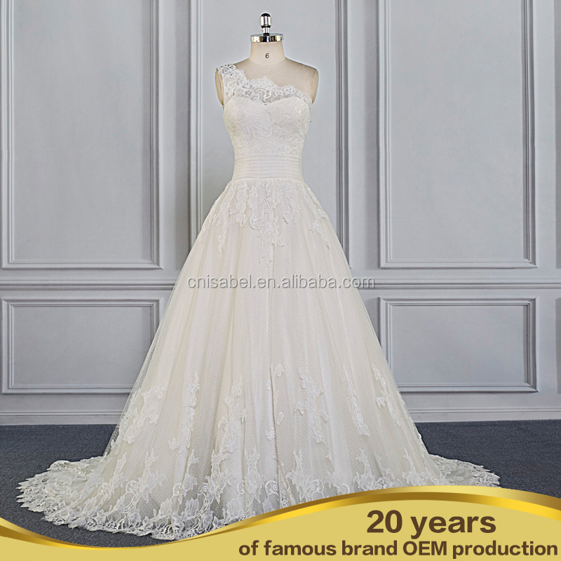 SW16630 Fishtail gown lace evening dress with beaded hand bandage hip wedding dress guangzhou wholesale