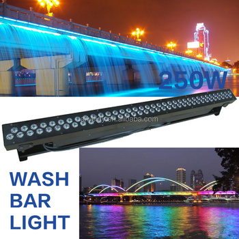 stage lighting 72x3W wash wall washer light bar offroad