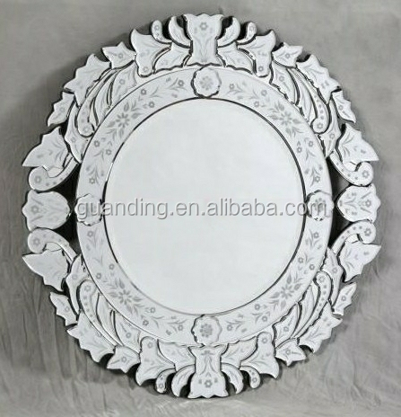 Home Decor Venetian Baroque Wall Large Oval Mirror