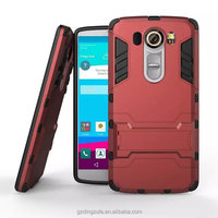 Hybrid tpu +pc kickstand back case cover for LG v10