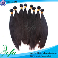 Full cuticle silky natural straight wave hair extension