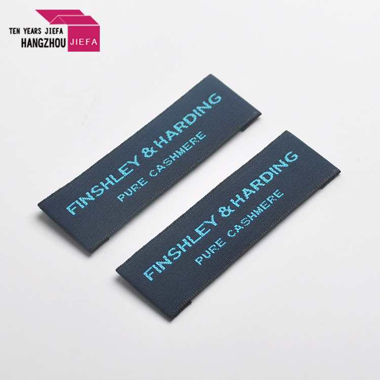 China factory make nice quality customized cloth woven patch label for garment
