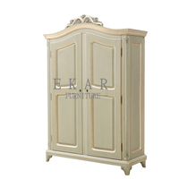 Bedroom furniture wood armoire wardrobe / godrej almirah designs with price