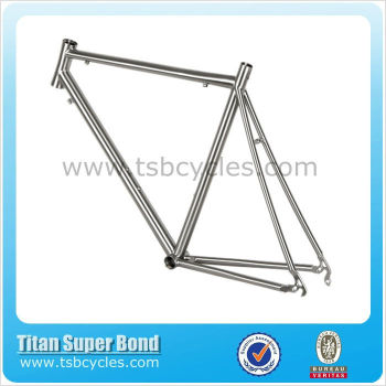 China 700C high quality titanium road bike frames TSB-HSR0901
