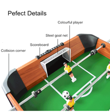 Professional soccer foosball babyfoot electric football table