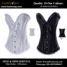 New arrival wholesale high quality white corset