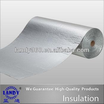 Floor panel aluminium bubble foil insulation for moisture for Moisture resistant insulation