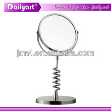 bath mirrors standing chromed cosmetic mirror