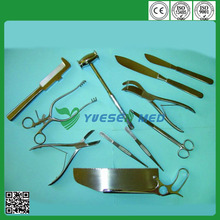 cheap stainless steel autopsy instrument set