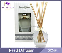 2014 hot sale curve reed diffuser popular home diffuser with rattan
