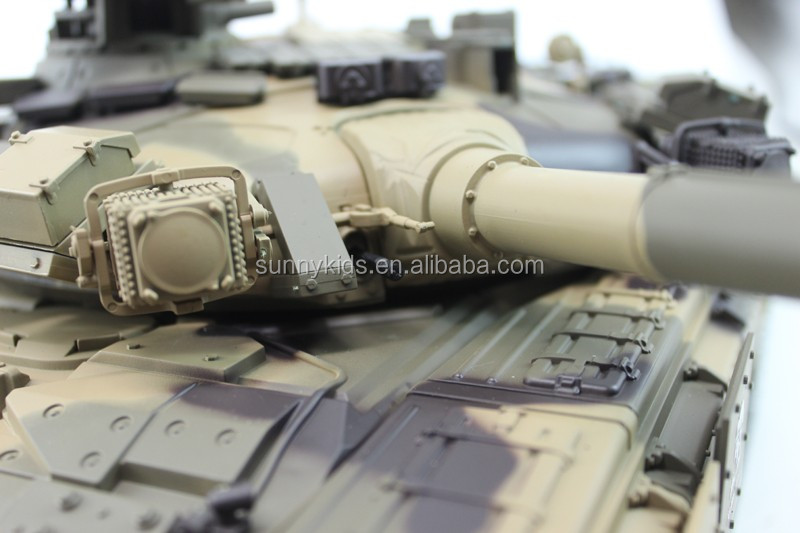 2.4G Remote Control 1:16 Russian T90 RC Tank with shooting BB bullets