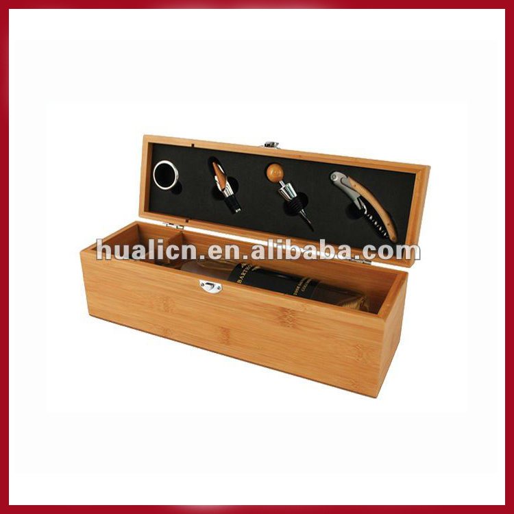 Bamboo Wooden Wine Boxes For Sale
