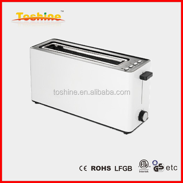 One Long Slot 2 Slice Cool Touch Toaster