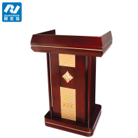 wooden speech podium/wooden church podium stand
